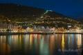 Bergen-historischer-Stadtkern-Blaue-Floyen-Spiegelung-Hafen-Stunde-Nachtaufnahme-Beleuchtung-Norwegen-Sony A7RII-DSC00686_0001