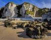 Landschaften-Wild-Atlantic-Way-White-Rocks-Kalkfelsen-Felsen-Meereskueste-Kueste-Strand-Nordkueste-Irland-Nordirland-irische-nordirische-A-Sony_DSC2153