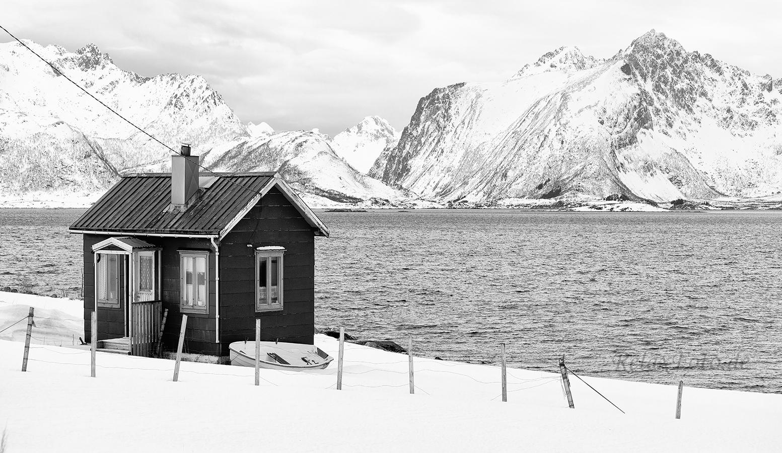 Nordlicht auf den lofoton for Norwegen haus