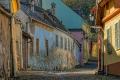 Gasse-Mittelalter-Sighisoara-Schaessburg-Rumaenien-Siebenbuergen-Transylvanien-A_NIK500_7152 Kopie