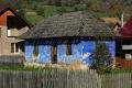 Mittelalter-Land-Haus-blau-Rumaenien-Siebenbuergen-Transylvanien-RX_02839 Kopie