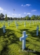 Grabkreuze-Marmor-weisser-Mahnmal-Normandie-Befreiung-Hitler-Omaha-Beach-Frankreich-D-Day-Gedenkstaette-USA-US-Army-A-Sony_DSC1985